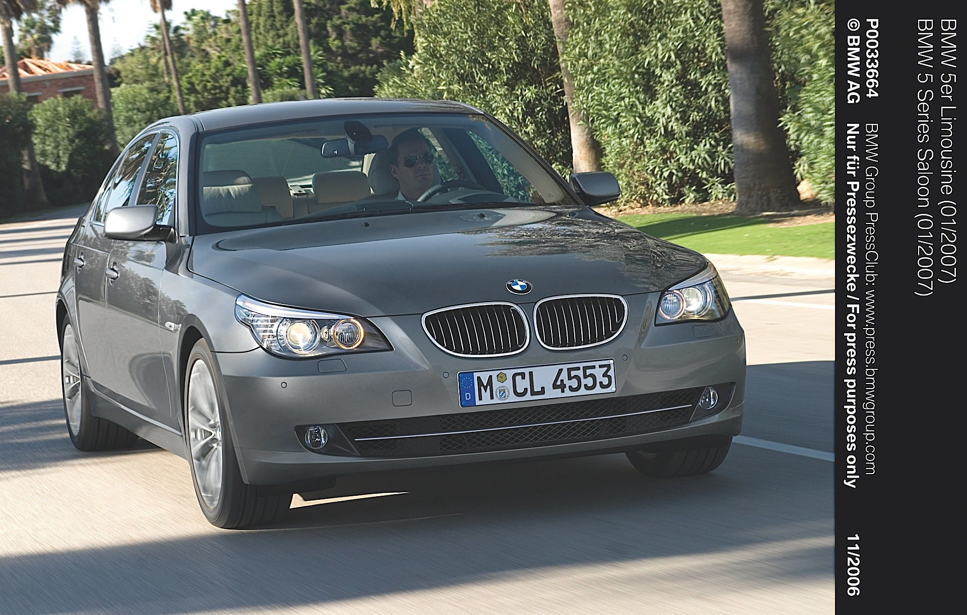 BMW Series E Specs Autoevolution - 2007 bmw 535