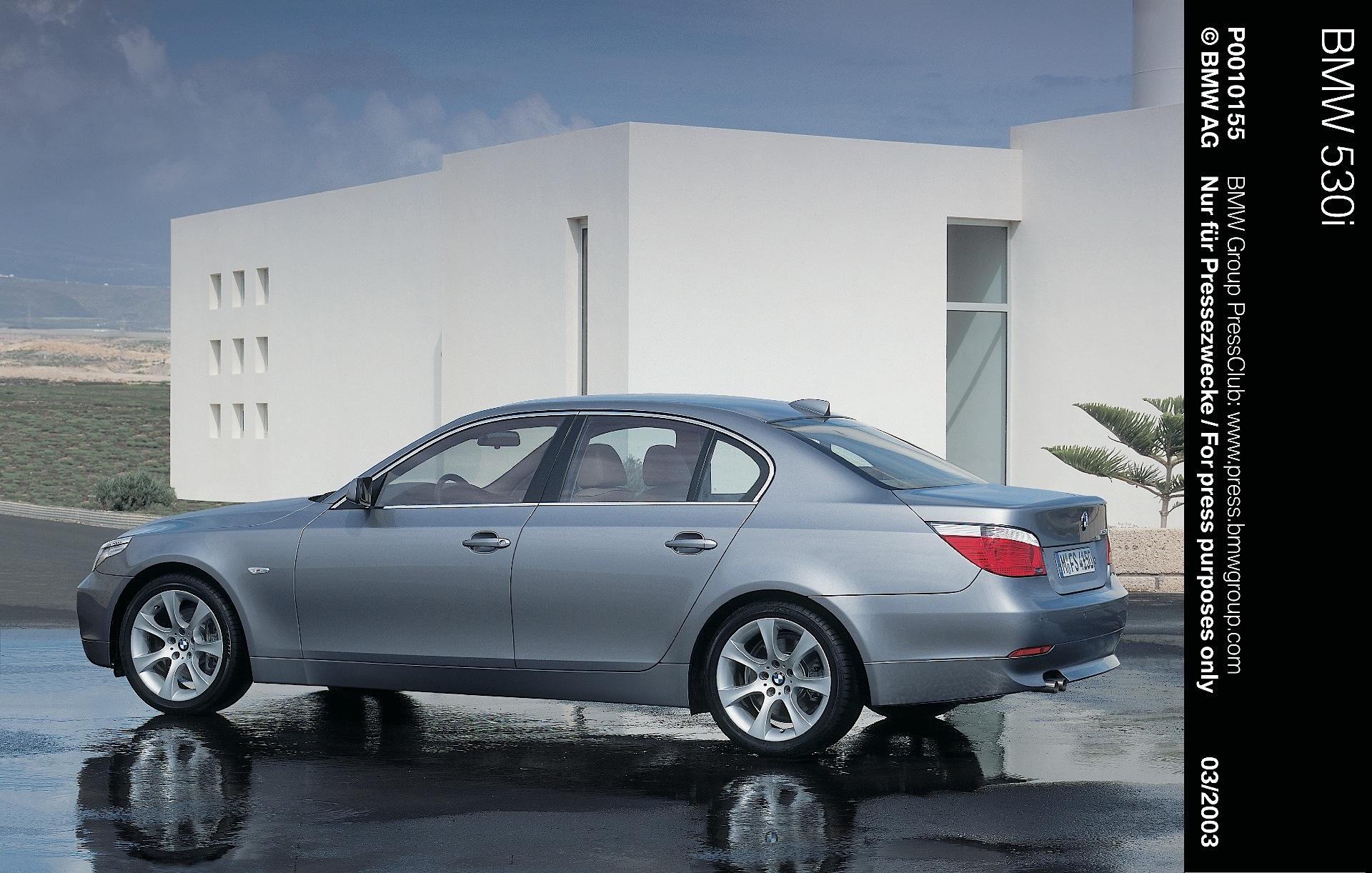 Prospectus BMW e61 5er Touring 525i 545i 525d 530d 1 2004