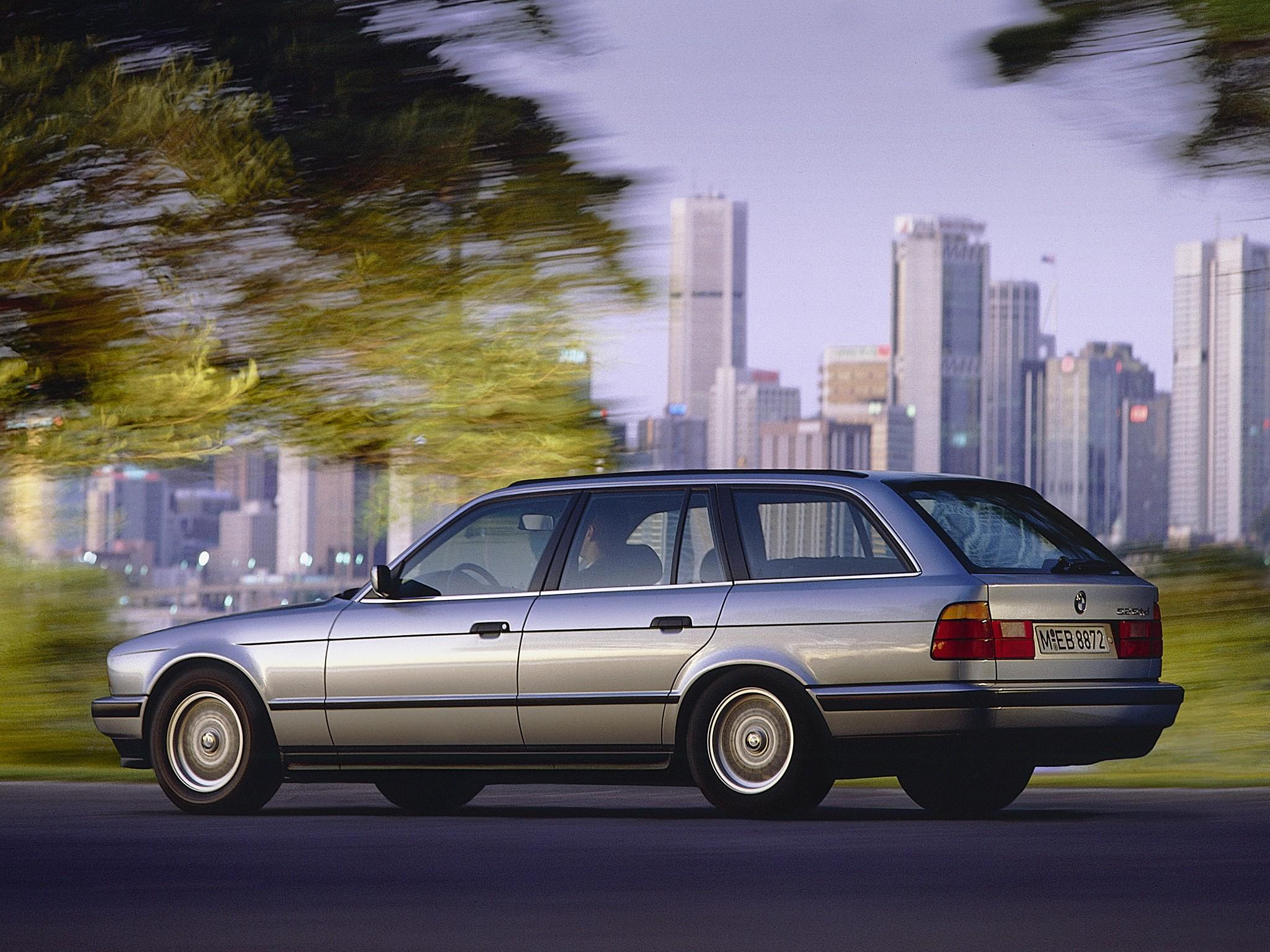BMW 5 Series Touring E34 specs  1992 1993 1994 1995 1996