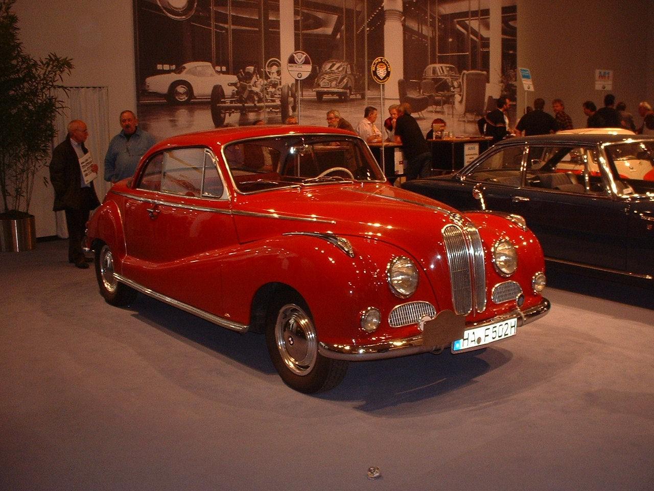 BMW 502 Coupe specs - 1954, 1955 - autoevolution