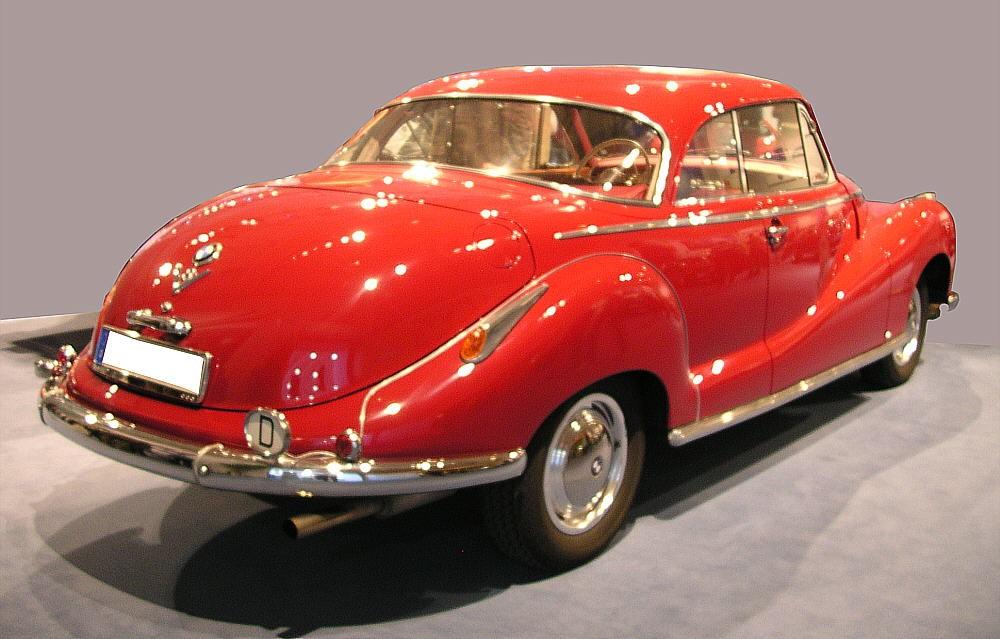 1954 bmw 502 cabriolet - photo #33