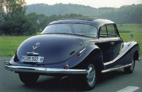 Bmw 502 Coupe Specs Amp Photos 1954 1955 Autoevolution