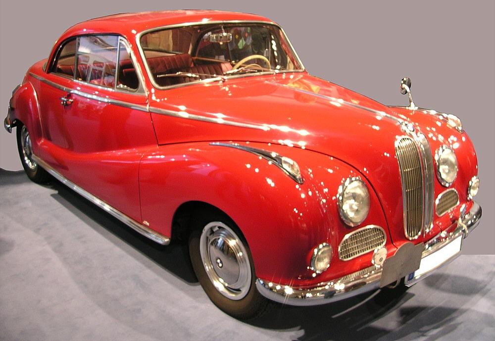 1954 bmw 502 cabriolet - photo #11