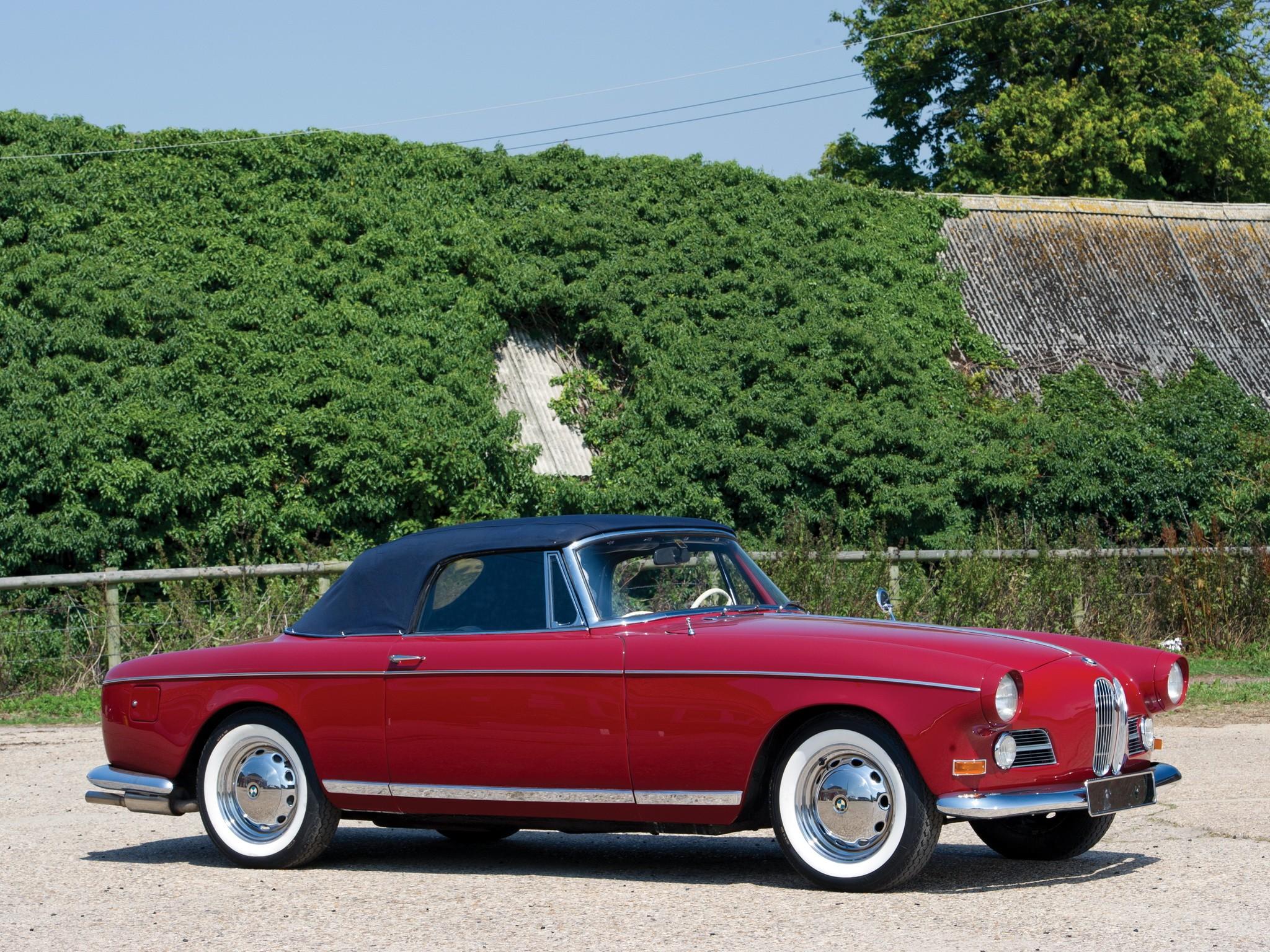 BMW 503 Cabriolet specs - 1956, 1957, 1958, 1959 - autoevolution