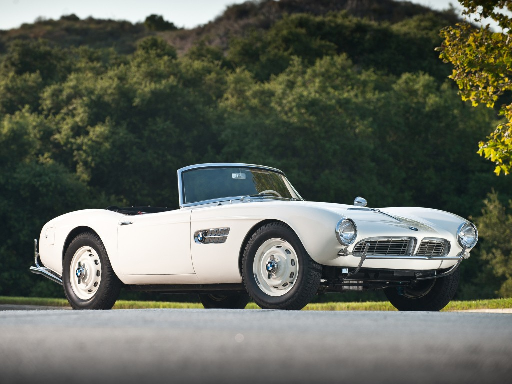 BMW 507 TS Roadster - 1955, 1956, 1957, 1958, 1959 ...