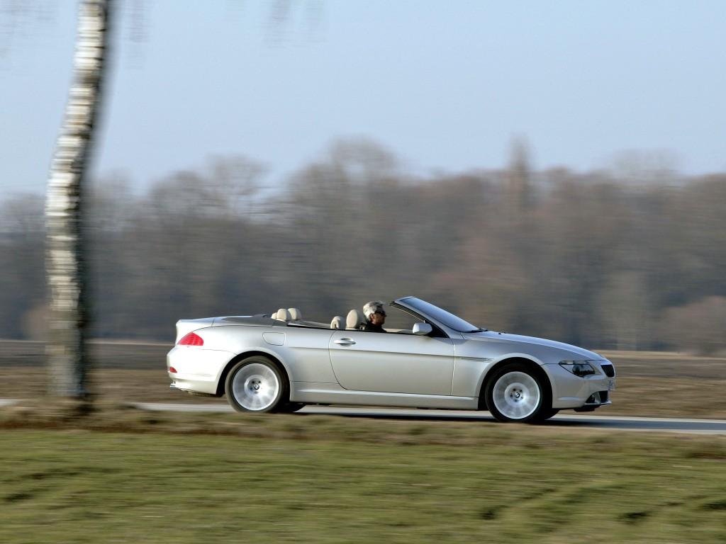 BMW 6 Series Convertible (E64) specs - 2004, 2005, 2006