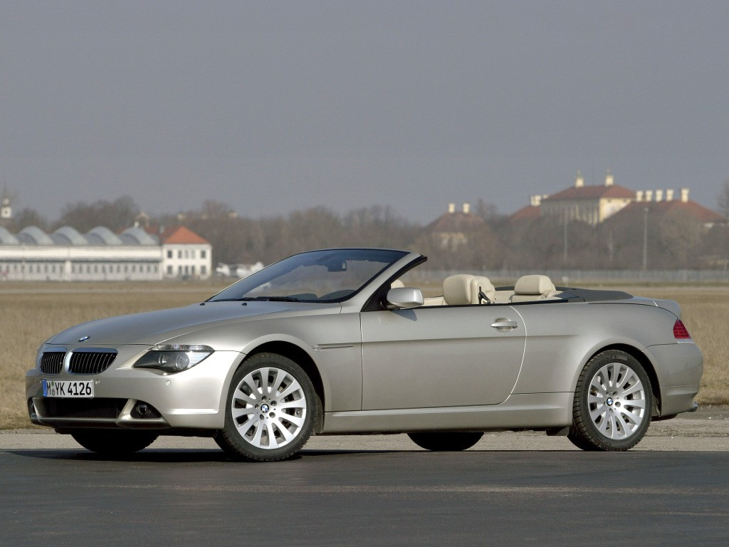 bmw 6 series convertible e64 specs photos 2004 2005. Black Bedroom Furniture Sets. Home Design Ideas