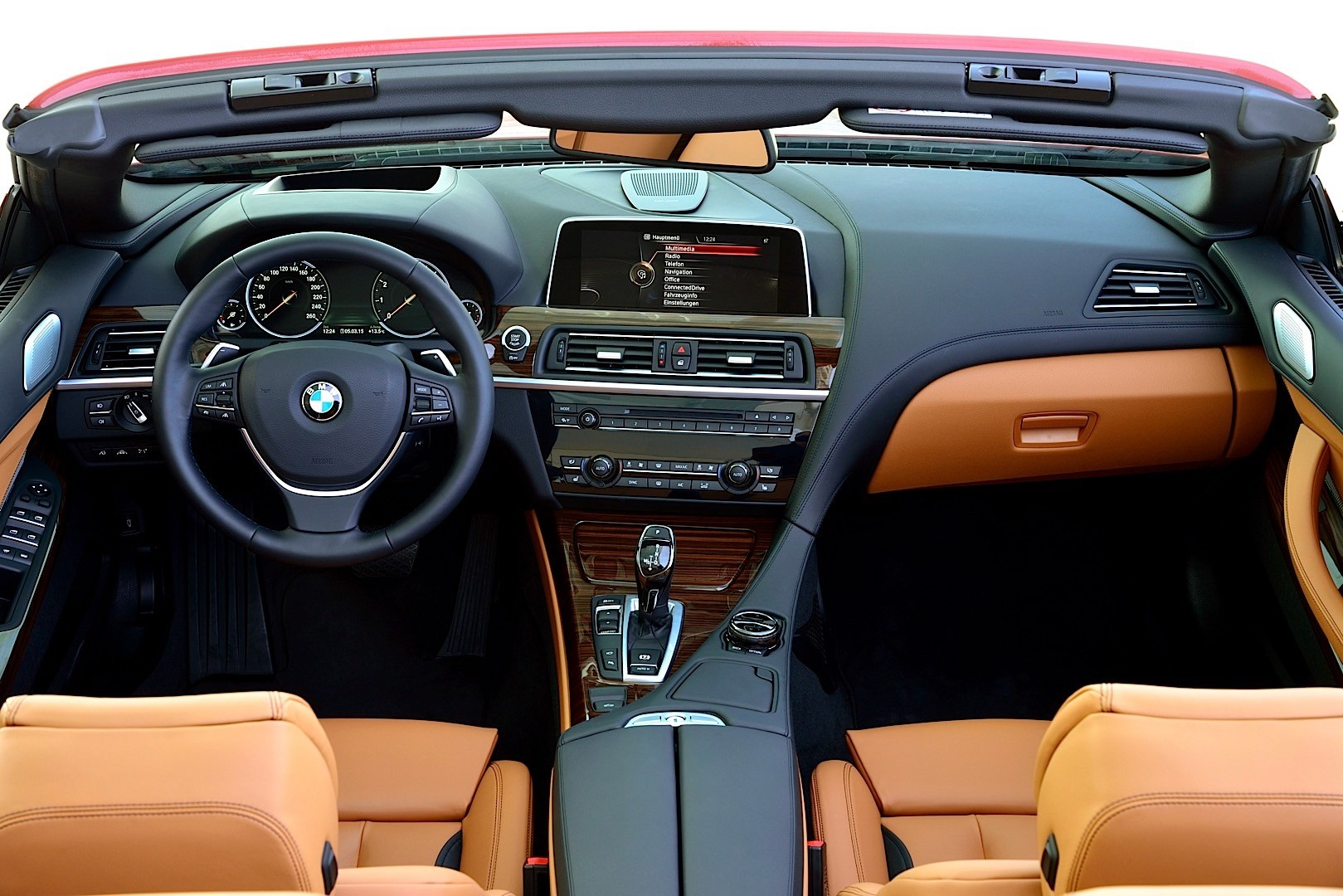 BMW 6 Series Convertible LCI F12 specs  2015 2016 2017