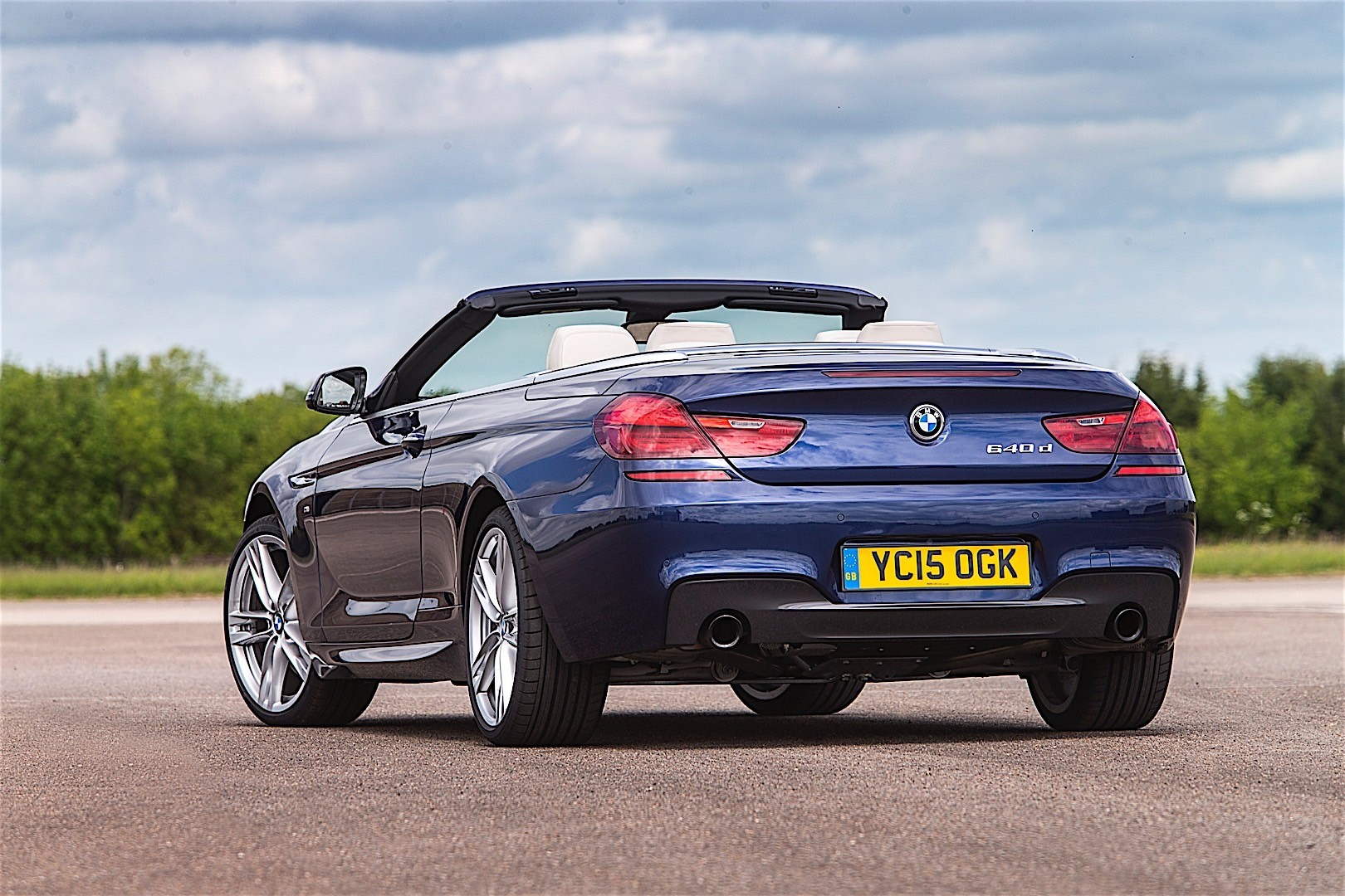 Bmw 6 Series Convertible Lci F12 Specs Amp Photos 2015