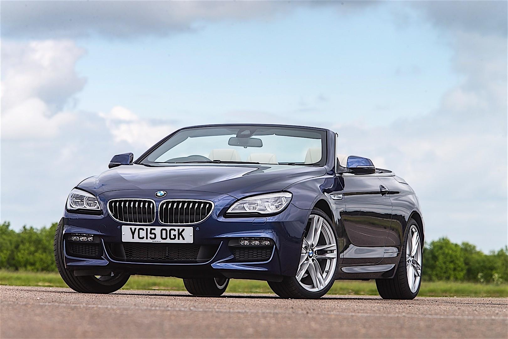 BMW 6 Series Convertible LCI (F12) specs & photos - 2015 ...