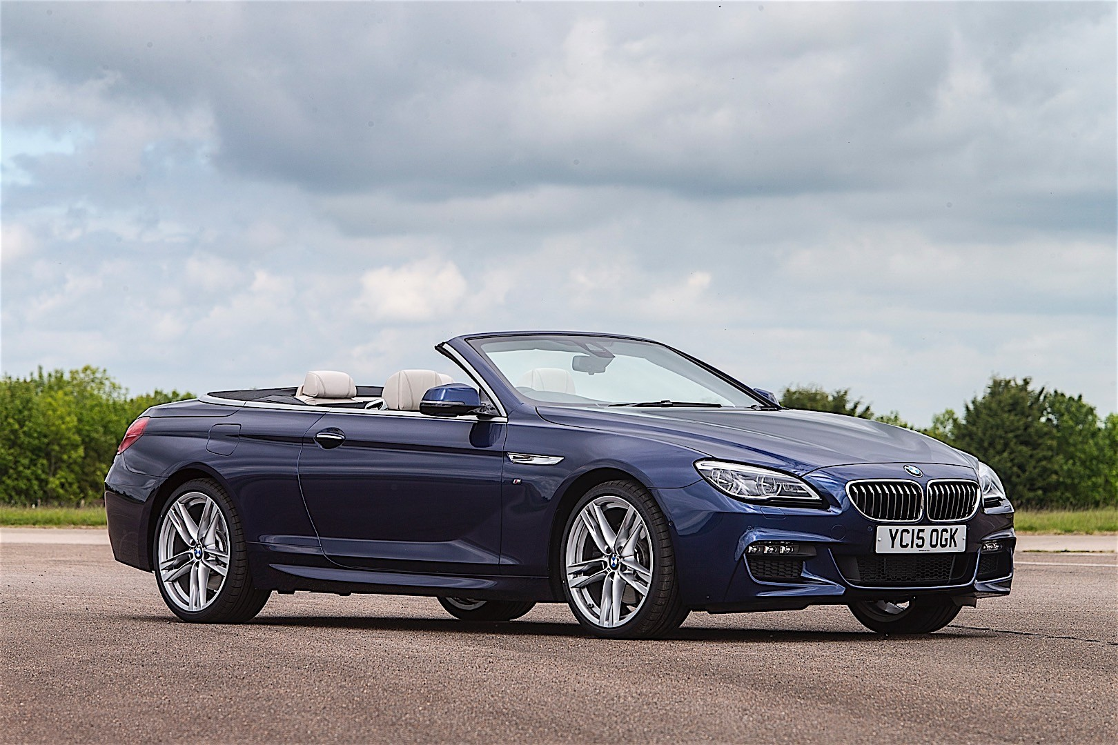 Bmw 6 Series Convertible Lci F12 2015 2016