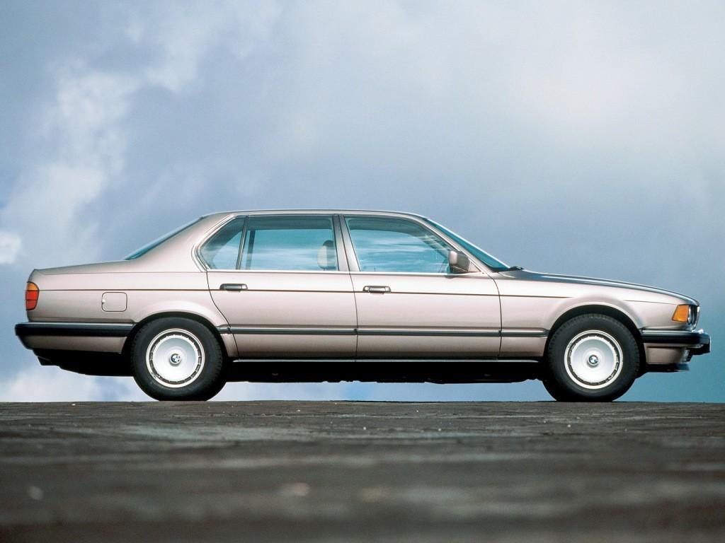 BMW 7 series e32 1987