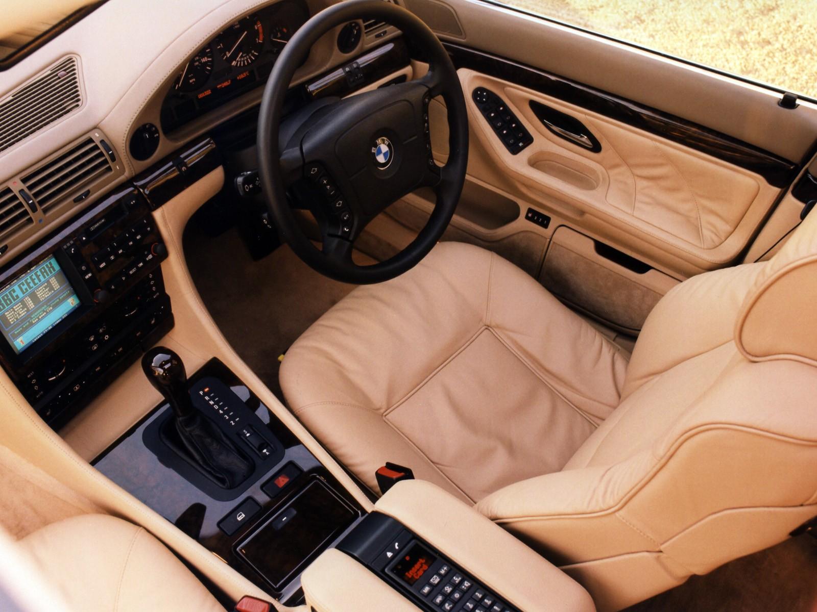 BMW 7 Series (E38) specs & photos - 1994, 1995, 1996, 1997 ...