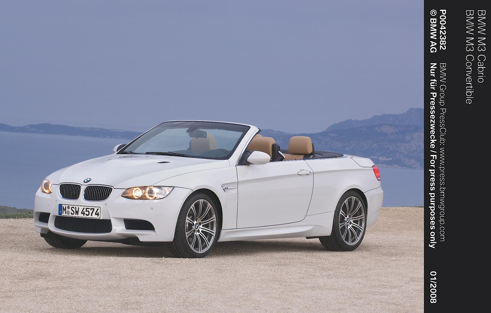 Bmw M3 0 60 >> BMW M3 Cabriolet (E93) - 2008, 2009, 2010, 2011, 2012, 2013 - autoevolution