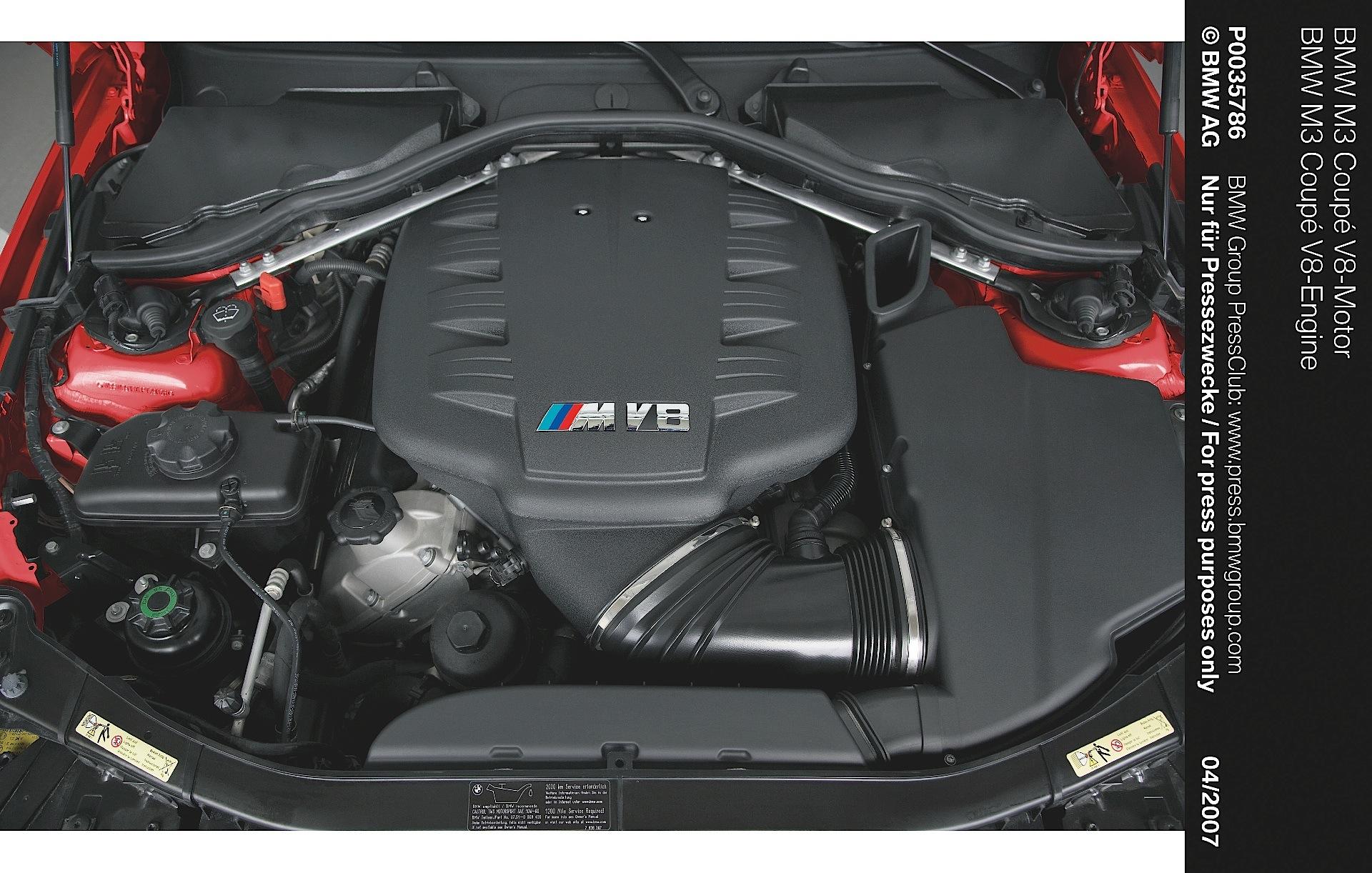 BMW M3 Coupe (E92) specs & photos - 2007, 2008, 2009, 2010 ...