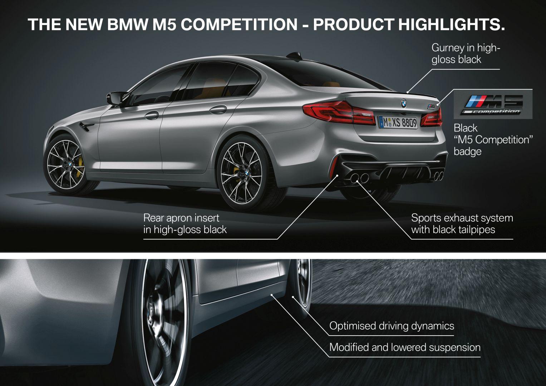 Bmw M5 Competition F90 Specs Photos 2018 2019 2020 Autoevolution