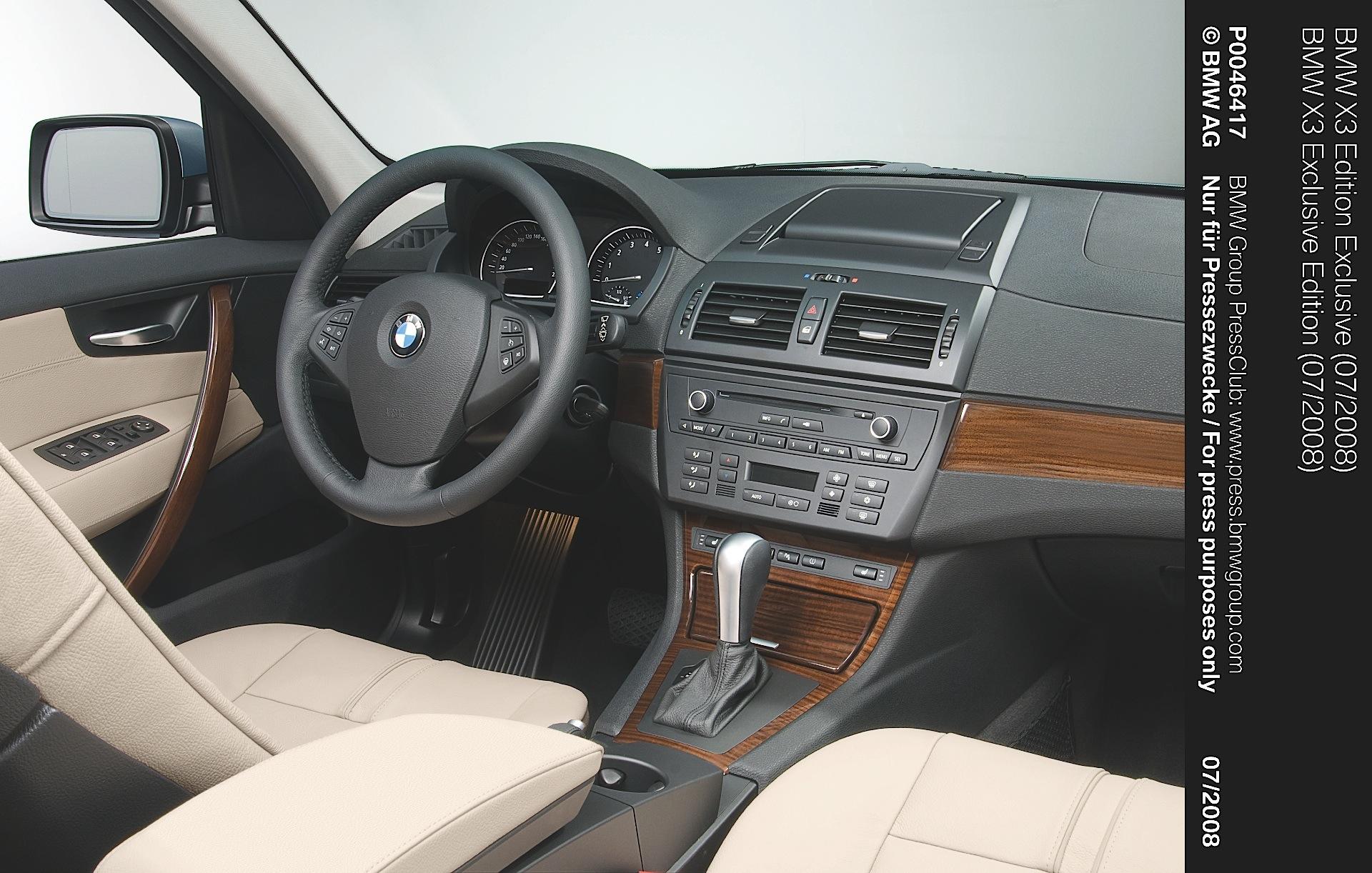 Bmw X3 E83 Spezifikationen Fotos 2007 2008 2009 2010 Autoevolution In Deutscher Sprache