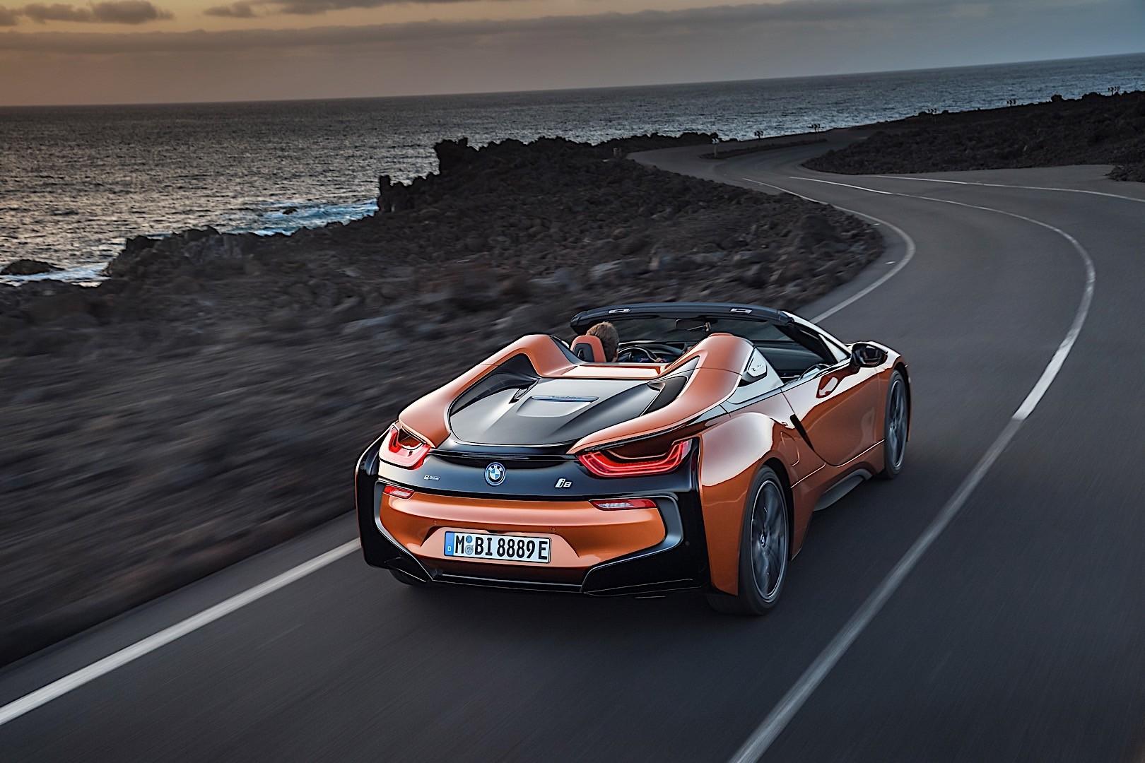 BMW i8 Roadster specs & photos - 2018 - autoevolution