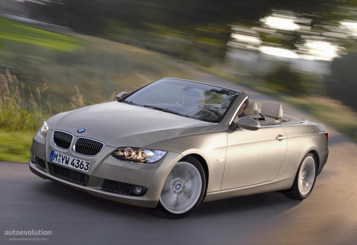 BMW 3 Series Cabriolet (E93) specs & photos - 2007, 2008 ...