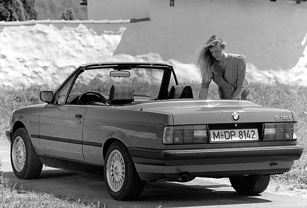 BMW 3 Series Cabriolet (E30) - 1986, 1987, 1988, 1989 ...