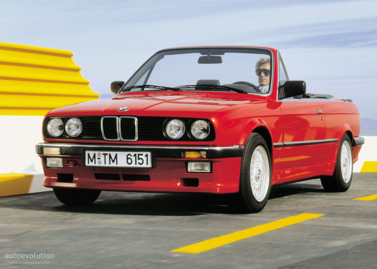 Bmw 3 Series Cabriolet E30 1986