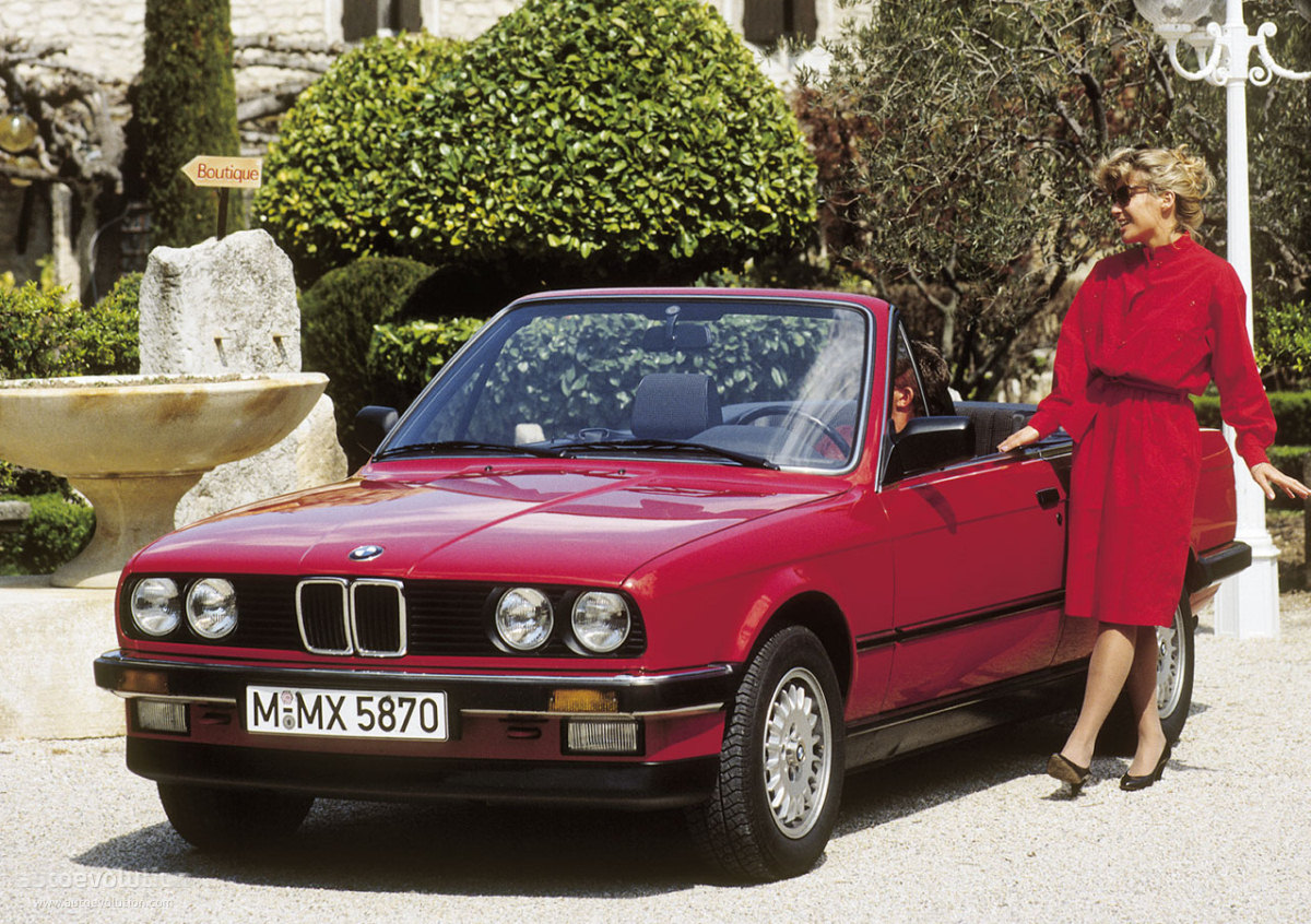 Bmw 3 Series Cabriolet E30 Specs Amp Photos 1986 1987