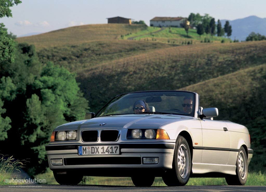bmw 3 series cabriolet e36 specs photos 1993 1994. Black Bedroom Furniture Sets. Home Design Ideas