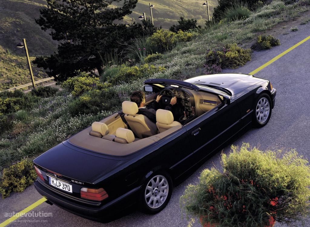 Bmw 3 Series Cabriolet E36 1993 1994 1995 1996