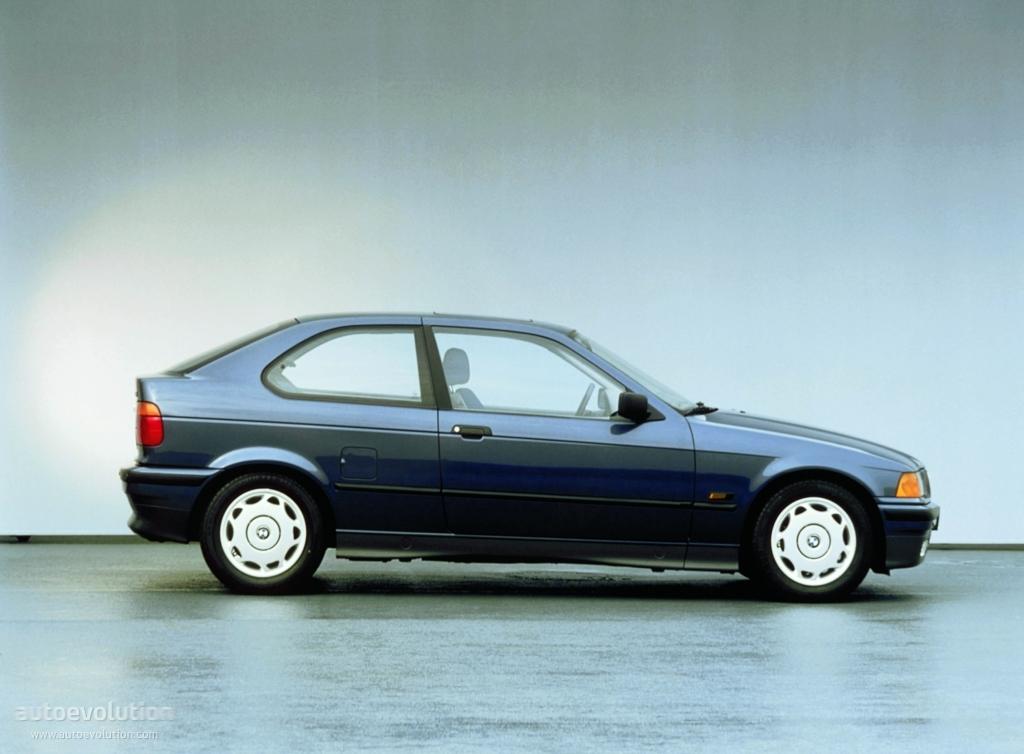 BMW 3 Series Compact (E36) - 1994, 1995, 1996, 1997, 1998 ...