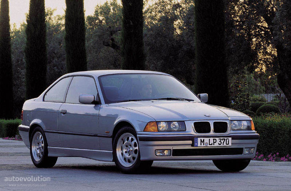 Bmw 3 Series Coupe E36 1992 1993 1994 1995 1996