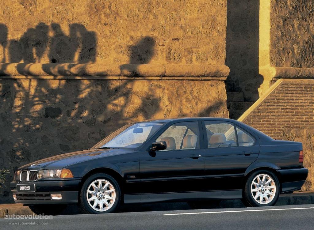 Bmw 3 Series Sedan E36 Specs Photos 1991 1992 1993 1994