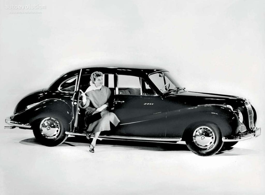 BMW 501/502 - 1952, 1953, 1954, 1955, 1956, 1957, 1958 ...