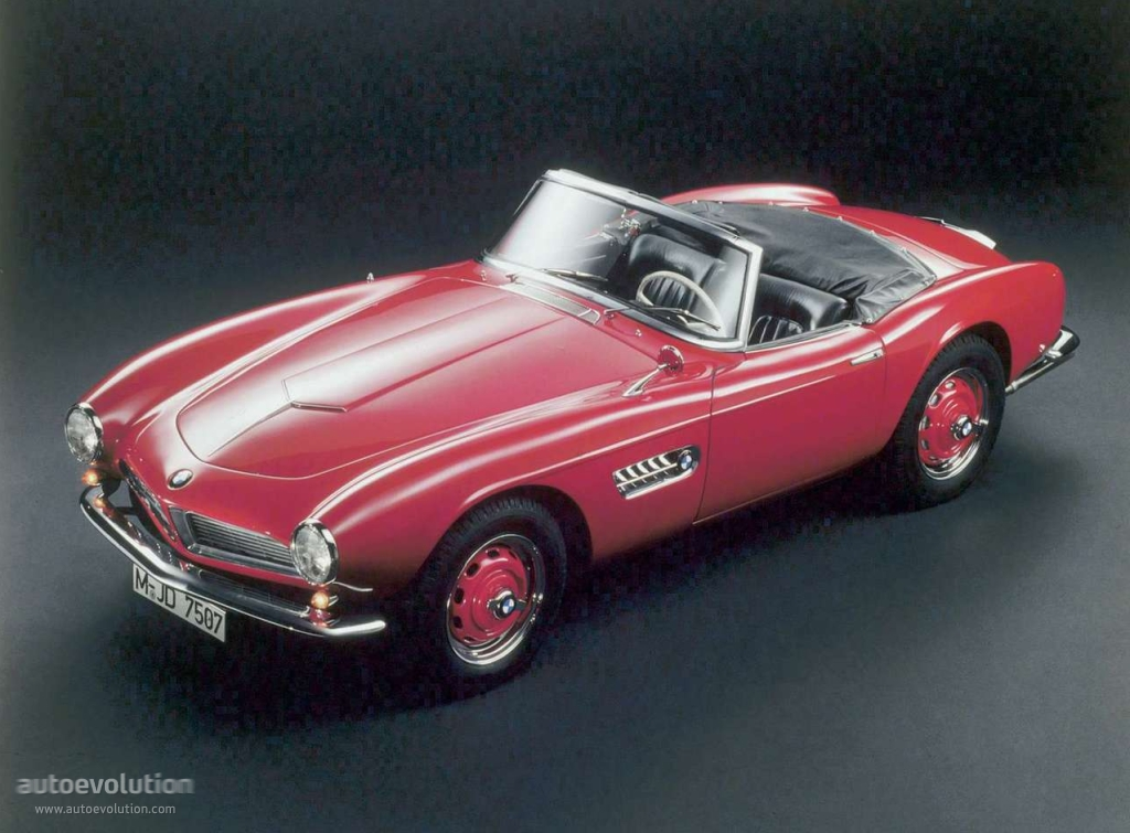 BMW 507 TS Roadster 1955