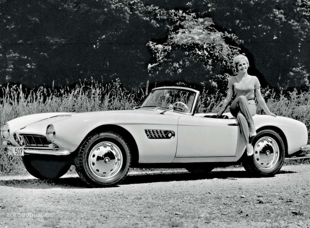 Bmw 507 Ts Roadster Specs 1955 1956 1957 1958 1959