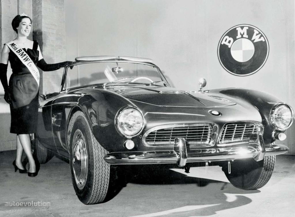 BMW 507 TS Roadster 1955