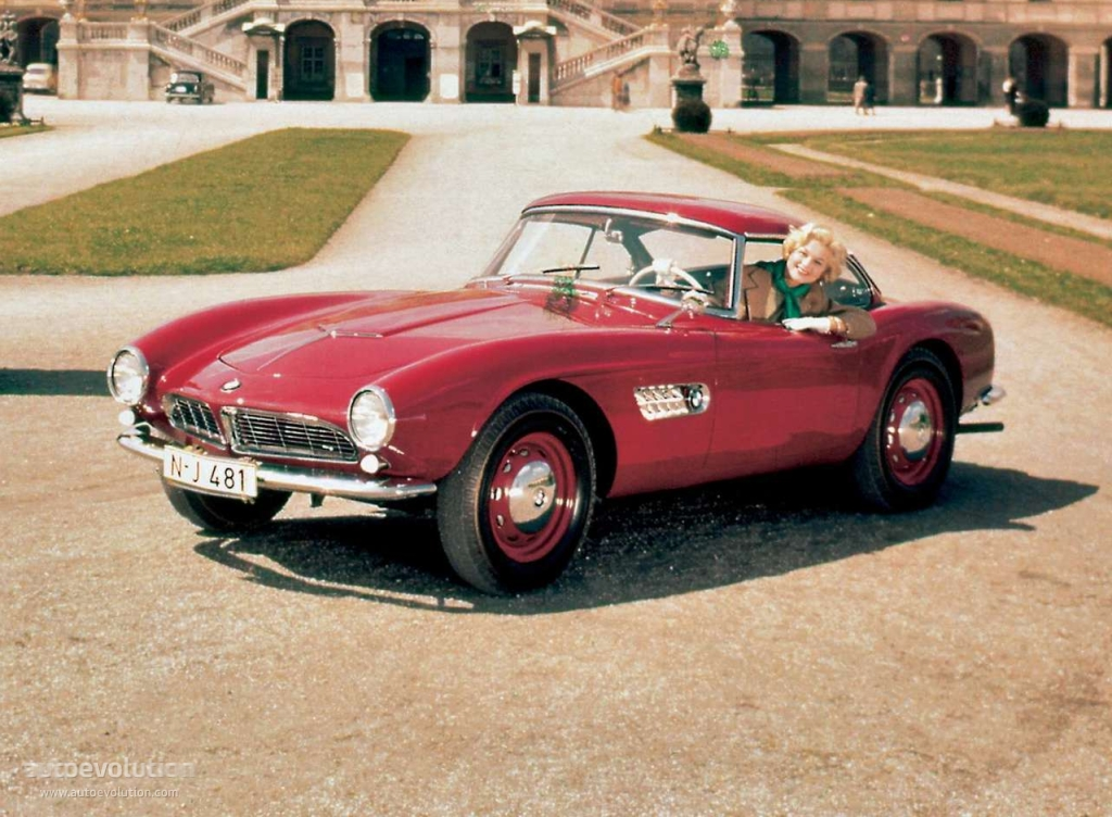 Bmw 507 Ts Coupe Specs 1956 1957 1958 1959