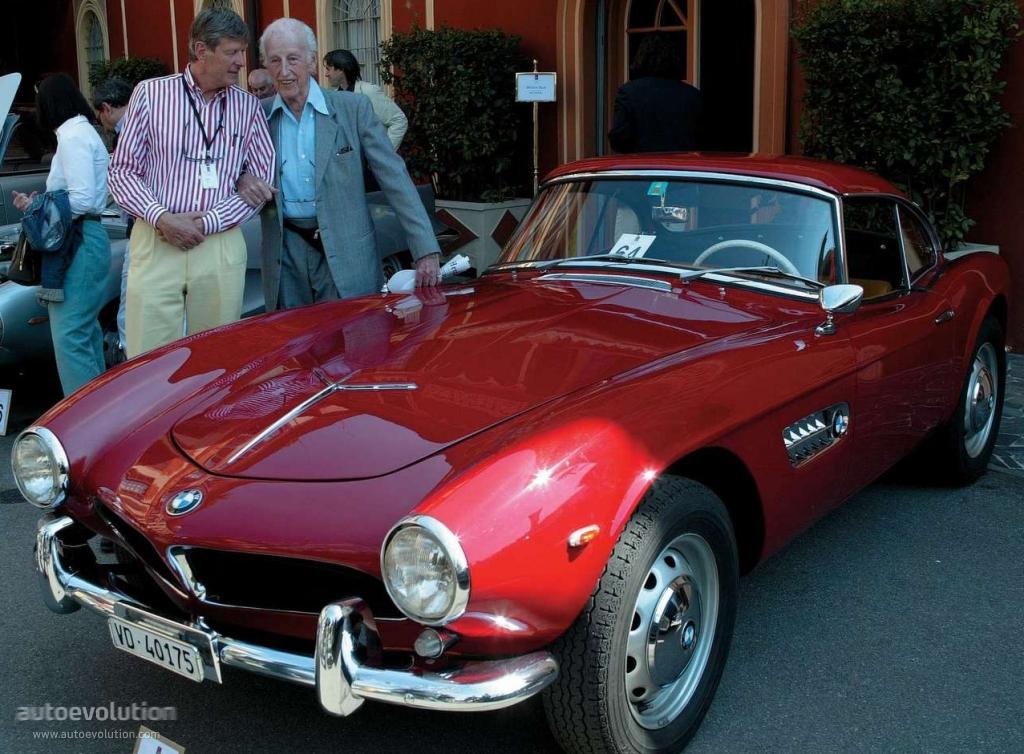 1957 Aston Martin >> BMW 507 TS Coupe - 1956, 1957, 1958, 1959 - autoevolution
