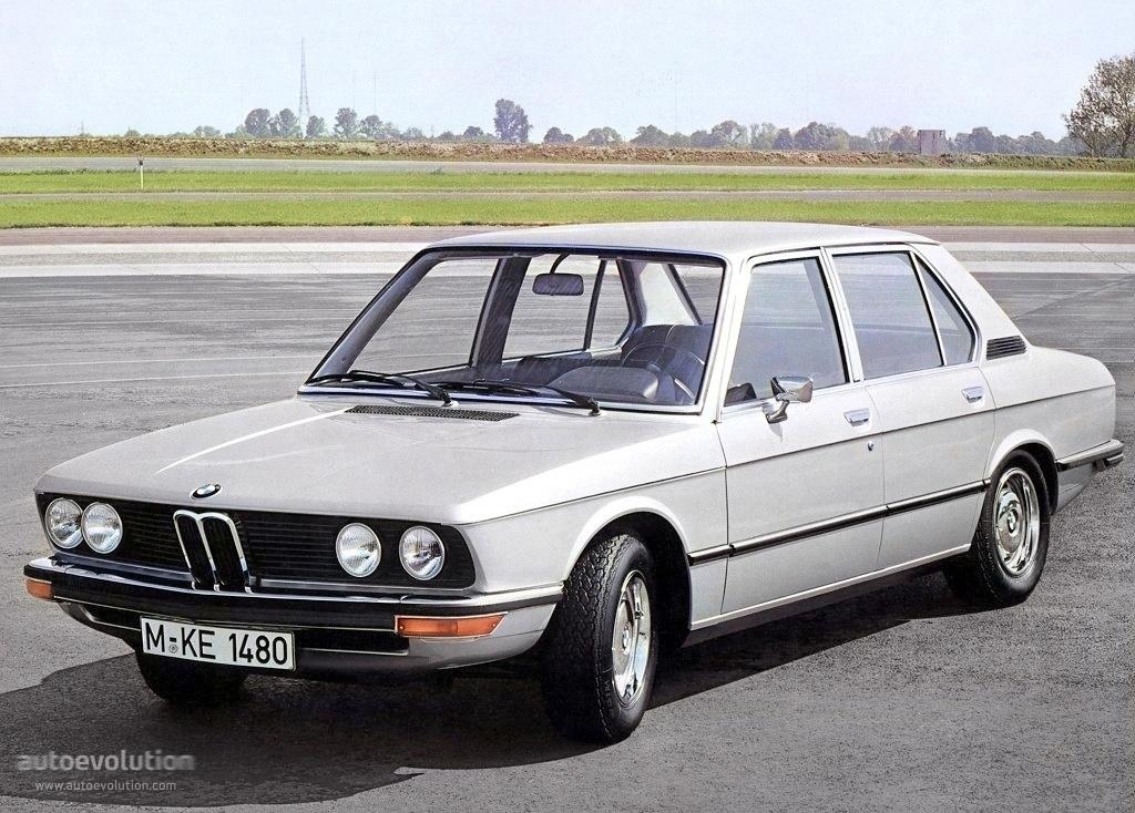 BMW 5 Series (E12) specs & photos - 1972, 1973, 1974, 1975, 1976 ...