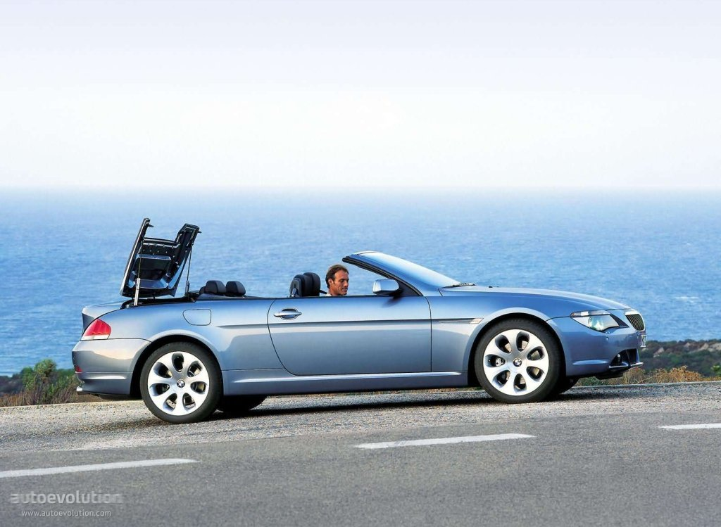 bmw 6 series convertible e64 specs photos 2004 2005 2006 2007 autoevolution. Black Bedroom Furniture Sets. Home Design Ideas