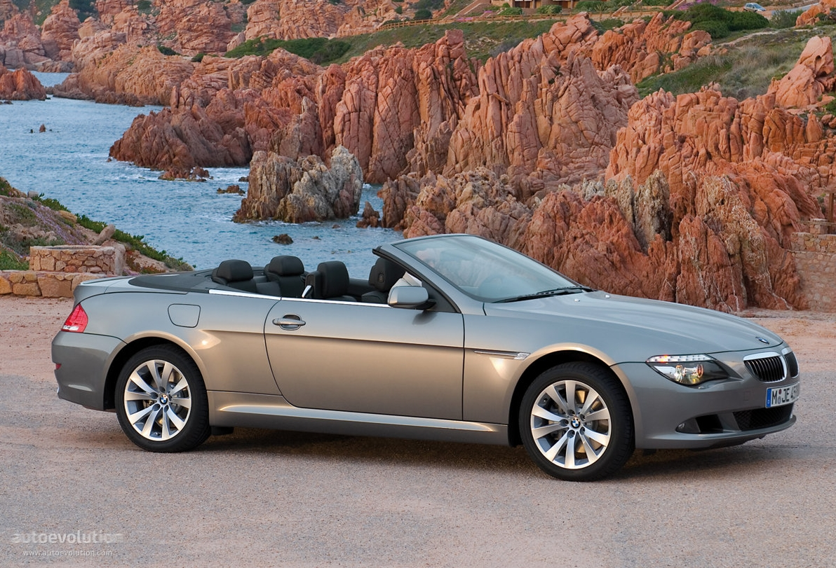 bmw 6 series convertible e64 specs photos 2007 2008. Black Bedroom Furniture Sets. Home Design Ideas