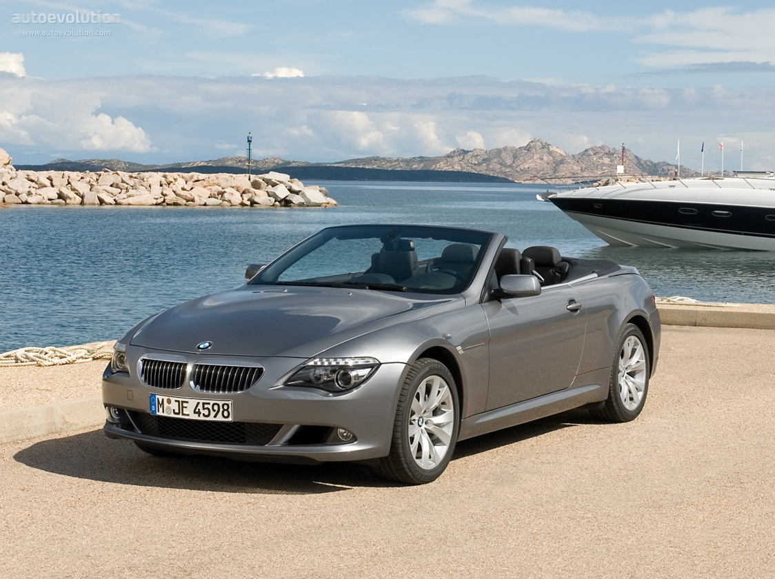 bmw 6 series convertible e64 specs photos 2007 2008 2009 2010 autoevolution. Black Bedroom Furniture Sets. Home Design Ideas