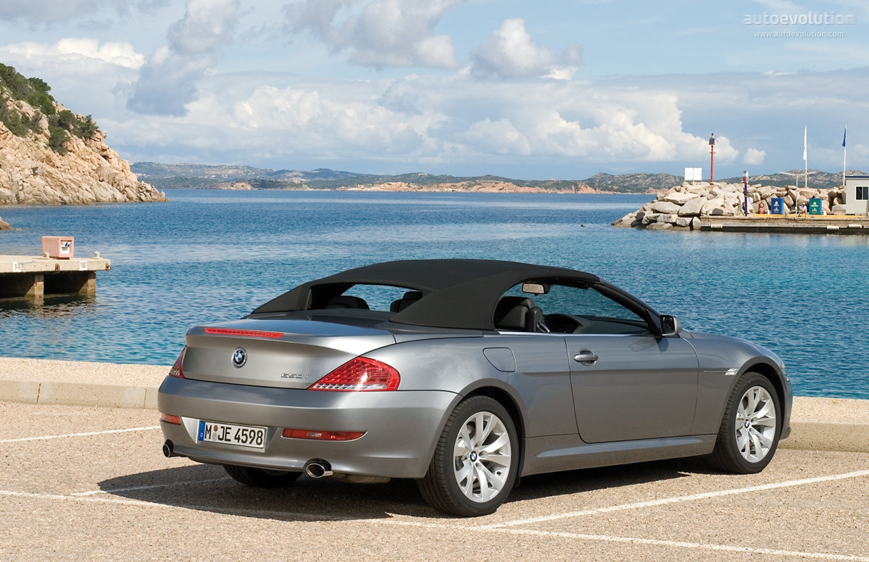 bmw 6 series convertible e64 specs 2007 2008 2009 2010 autoevolution. Black Bedroom Furniture Sets. Home Design Ideas