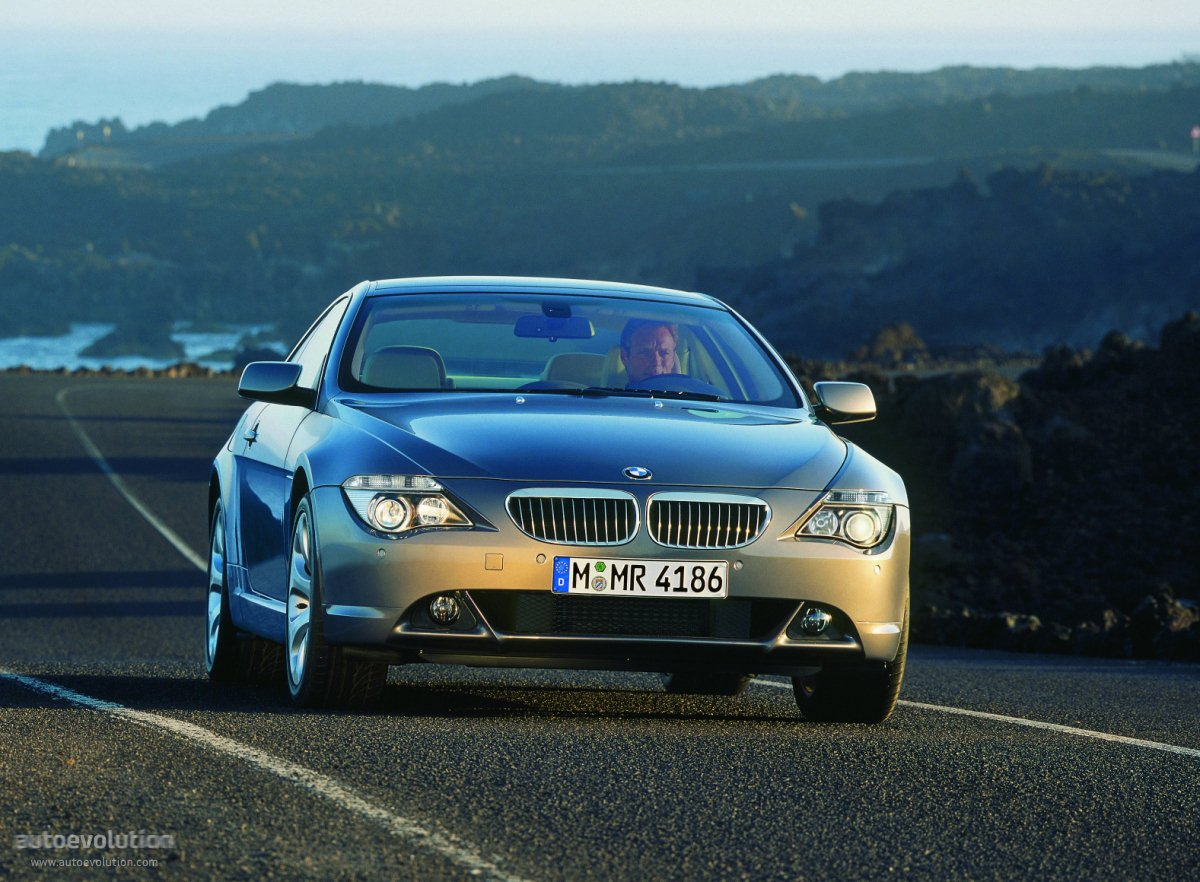 bmw 6 series coupe e63 2003 2007