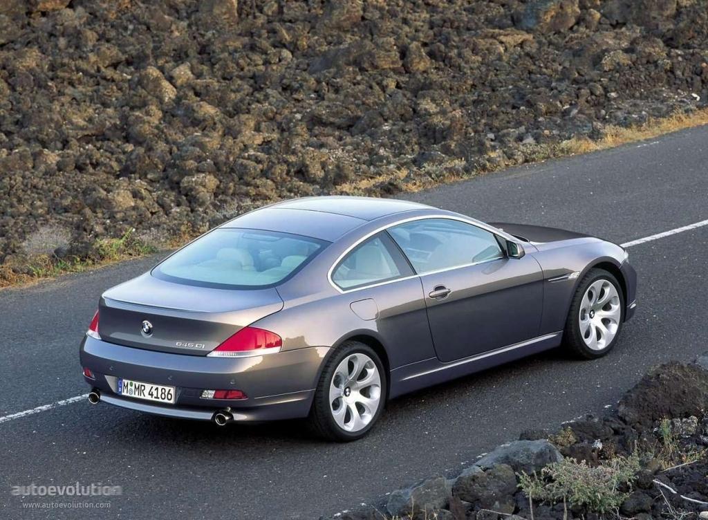 Bmw 6 Series Coupe E63 2003 2004 2005 2006 2007