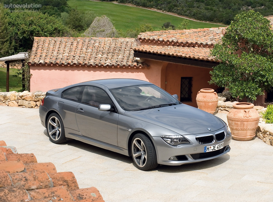 Bmw 6 series coupe e63 specs 2007 2008 2009 2010 2011 autoevolution