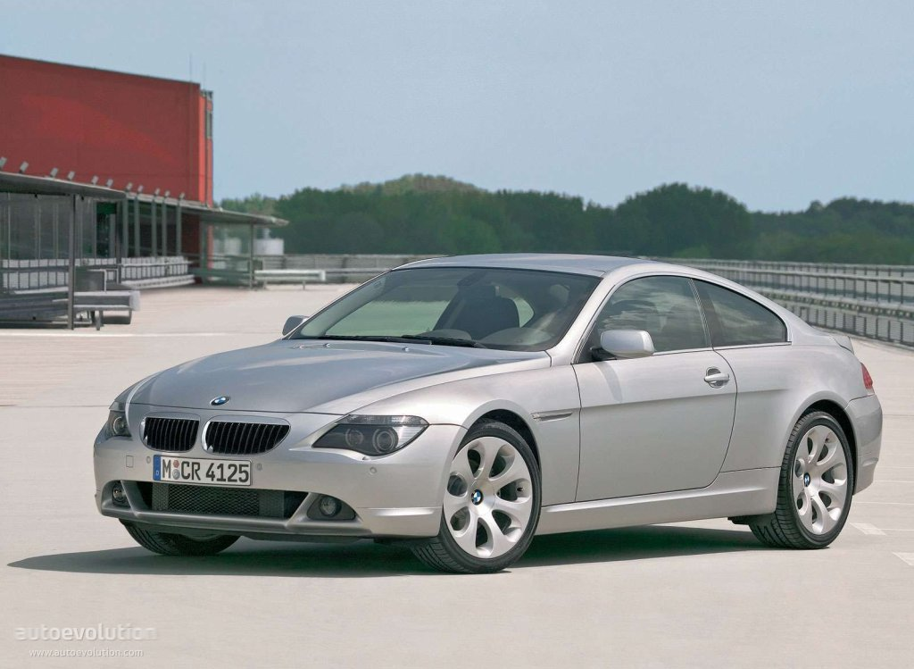 bmw 6 series coupe e63 specs photos 2003 2004 2005 2006 2007 autoevolution. Black Bedroom Furniture Sets. Home Design Ideas