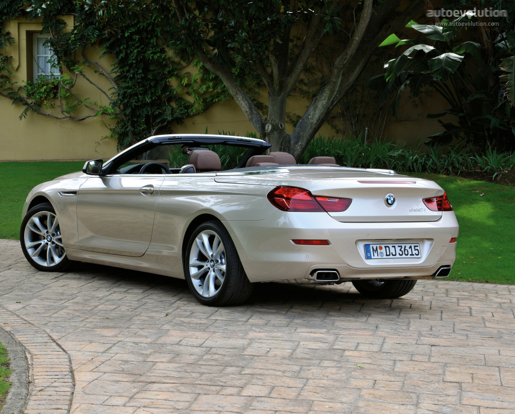 bmw 6 series convertible f12 specs 2012 2013 2014 2015 autoevolution. Black Bedroom Furniture Sets. Home Design Ideas