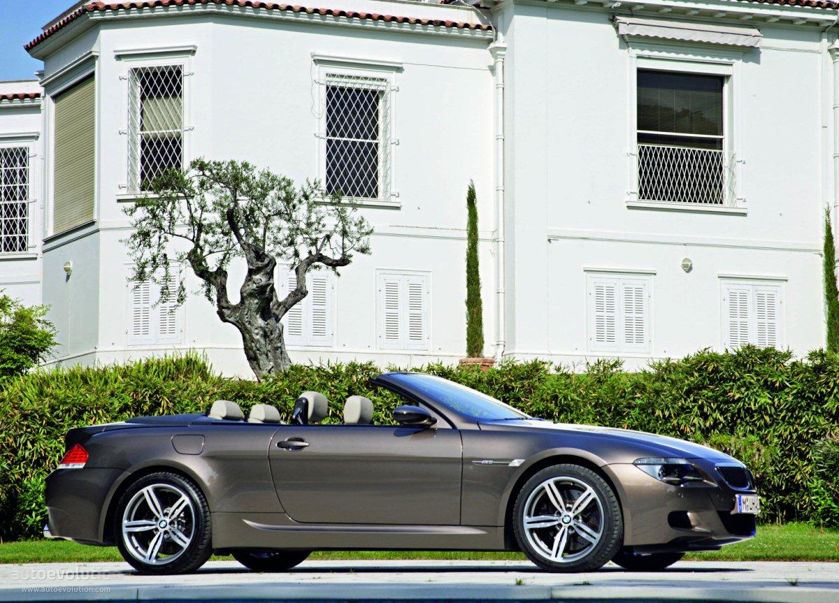 BMW M6 Cabrio (E64) specs - 2006, 2007, 2008, 2009, 2010 - autoevolution
