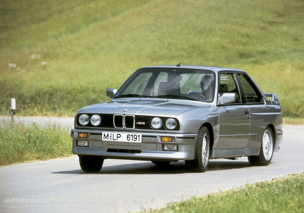 BMW M3 Coupe (E30) specs - 1986, 1987, 1988, 1989, 1990, 1991, 1992 ...