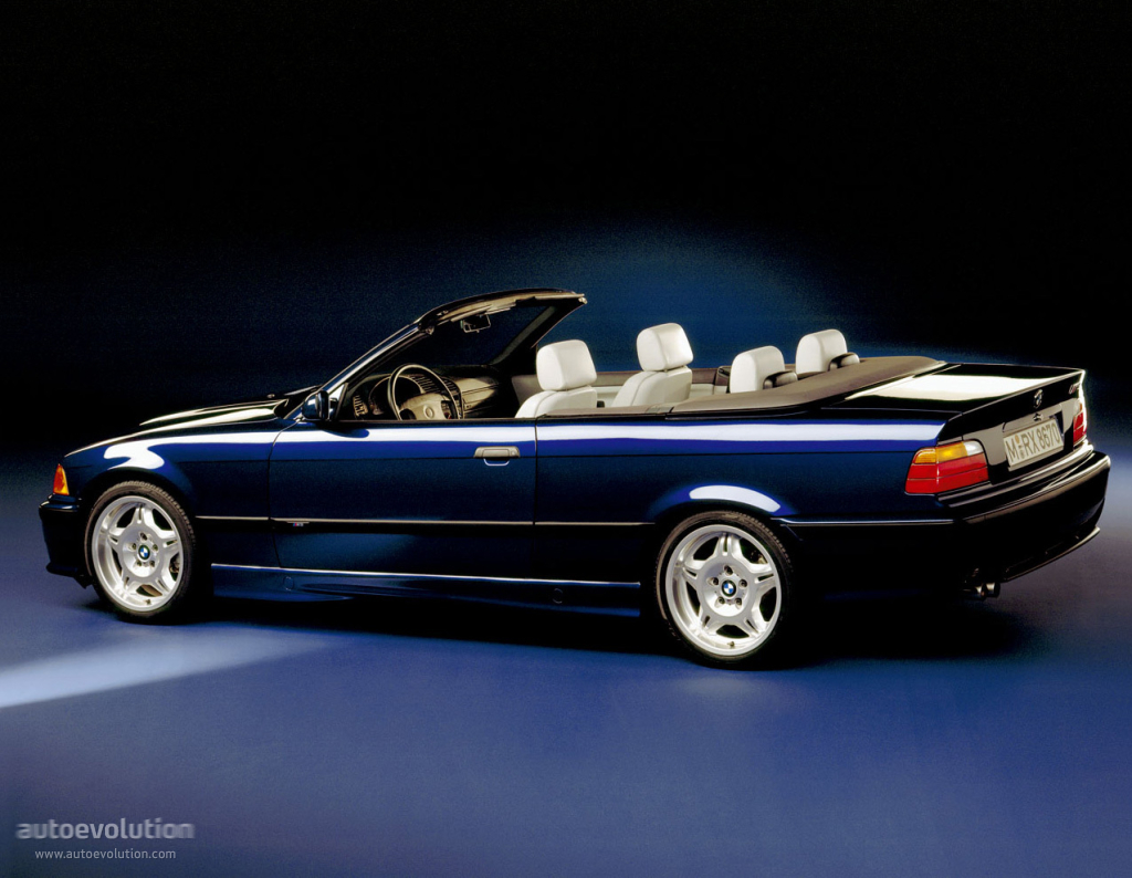 BMW M3 Cabriolet (E36) specs & photos - 1994, 1995, 1996 ...